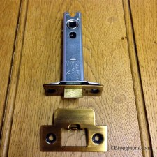Heavy Duty Mortice Door Latch 102mm Florentine Bronze