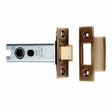Heavy Duty Mortice Door Latch 76mm Florentine Bronze