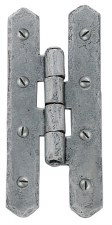 "From The Anvil H Hinges 4"" Pewter"