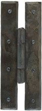 """From The Anvil H Hinges 7"""" Beeswax"""