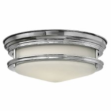 Hinkley Hadley Bathroom Flush Light Polished Chrome