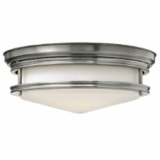 Hinkley Hadley Flush Ceiling Light Antique Nickel