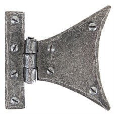 "From The Anvil Half Butterfly Hinge 5"" Pewter"