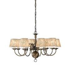 Halli Chandelier Light 8 Lights Bronze