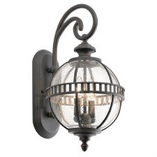 Kichler Halleron Small Outdoor Wall Light