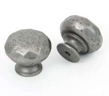 From The Anvil Hammered Knob Natural Smooth Small