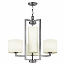 Hinkley Hampton 4 Light Chandelier Antique Nickel