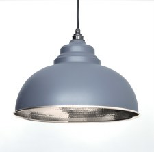 From The Anvil Harborne Pendant Light Hammer Dark Grey