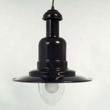 Harbour Ceiling Pendant Light Large Black