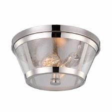 Feiss Harrow Flush Light Polished Nickel