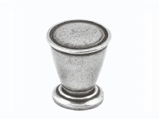 Finesse Haxby Cupboard Door Knob 25mm FD293 Solid Pewter