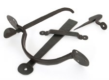 From The Anvil Heavy Bean Thumb Latch For Large Doors Beeswax