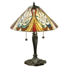 Interiors 1900 Hector Medium Tiffany Table Lamp