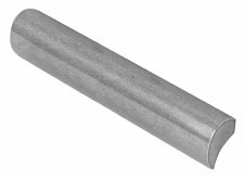 Finesse Hedley Drawer or Cupboard Pull Handle 205mm FD264 Solid Pewter
