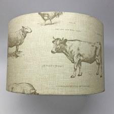 Hereford Pendant 30cm Shade - Farm Yard Design