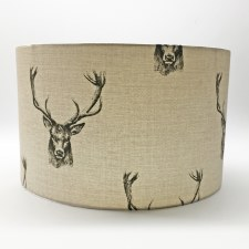 Hereford Pendant 40cm Shade - Stag Design