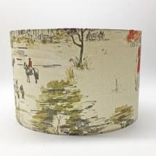 Hereford Pendant 30cm Shade - Burghley
