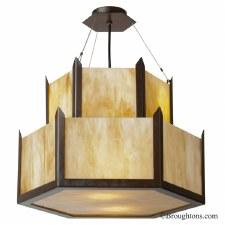 Hudson 2 Tier Uplighter Ceiling Pendant