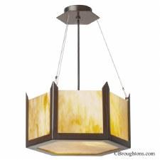 Hudson Uplighter Ceiling Pendant Small