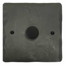 Hand Forged Dimmer Switch 1 Gang Anthracite