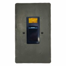 Hand Forged Vertical Cooker Switch Anthracite