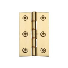 Heritage Hinge PR88-400 Polished Brass