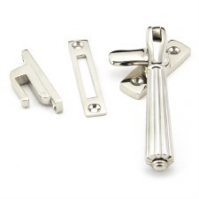 From The Anvil Hinton Window Handle Locking Polished Nickel