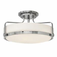 Elstead Harper Semi Flush Light Medium Polished Chrome