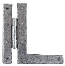 """From The Anvil HL Hinges 7"""" Pewter"""