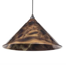 From The Anvil Hockley Pendant Light Burnished