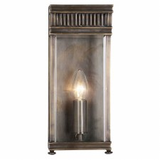 Elstead Holborn Small Outdoor Wall Lantern Dark Bronze