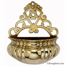 Holy Water Holder Brass
