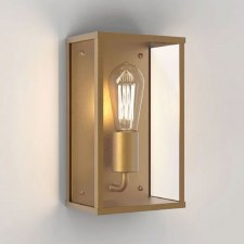 Homefield Wall Light Coastal Range Antique Brass