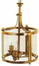 Honfleur Lantern Light Antique Brass