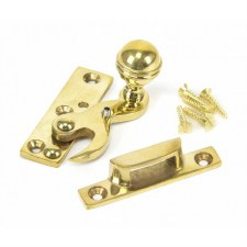 From The Anvil Sash Fastener Polished Brass Unlacquered