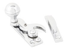 From The Anvil Hook Sash Fastener Polished Chrome