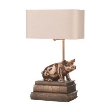 David Hunt HOR4264 Horace Table Lamp Base Copper