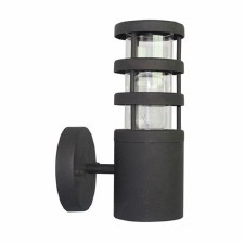 Elstead Hornbaek Outdoor Wall Light Black