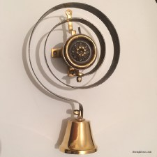 Butler or Housekeepers Bell Only Brass
