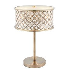 Interiors 1900 Hudson Table Lamp Antique Brass