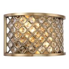 Interiors 1900 Hudson Wall Light Antique Brass