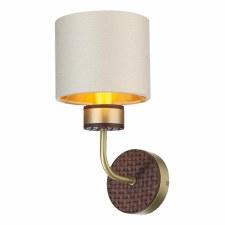 David Hunt HUN0740 Hunter Single Wall Light Butter Brass