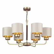 David Hunt HUN0640 Hunter 6 Light Pendant Chand Light