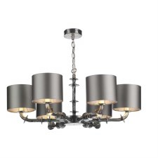 David Hunt ICA0699 Icarus 6 Light Pendant Chandelier with Shades