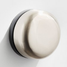 Imperial De-Luxe Wind-Up Door Bell Satin Chrome