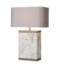 David Hunt INC4302 Inca Marble Table Lamp Base