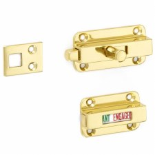 Croft Indicator Bolt 4550 Polished Brass Lacquered