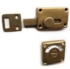 Croft Indicator Bolt 4551 Aged Brass