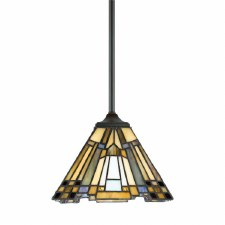 Quoizel Inglenook Tiffany Mini Pendant Light Valiant Bronze