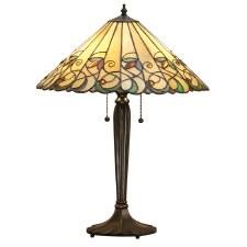 Interiors 1900 Jamelia Large Tiffany Table Lamp
